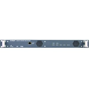 EMA 408 H.264 AVC Энкодер/Транскодер/DVB-Мультиплексор, 4хFBAS, SD/HD-SDI, ASI MPEG- 2 TS в ASI-TS и IP
