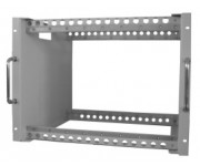 """MSR 016 19"""" шасси для 16 модулей B/C -LINE (8 RU, 600 мм глубина)"""