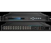 NDS3507Rx Gateway IP в 12xDVB-ASI, шлюз 2xGBE IP в ASI на 12 потоков