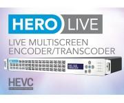 HERO LIVE Транскодер / Энкодер IP Multi-screen, RTSP, HLS, HDS, DASH, Flash