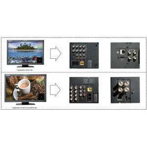 BCM-156-UG-S2H 15.6'' CVBS версия ЖК монитор вещательного качества