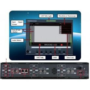 RMD5032-HSC 5.0'' 3xLCD Размер 3xLCDS Cтоечный профессиональный ЖК-монитор HD версия