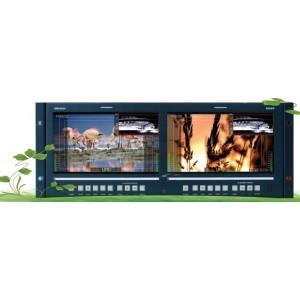 RMD9024-SC 9.0''  2xLCDS Cтоечный профессиональный ЖК-монитор SD версия