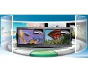 RMM1024-3HSV 10.1'' два входа Cтоечный профессиональный ЖК-монитор 3G/HD версия