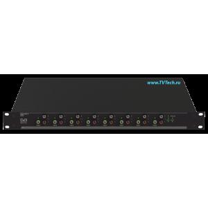DMX-2 Многопрограммный MPEG декодер с IP и ASI