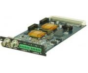 C201AS Модуль двухканального декодера MPEG-2 SD и H.264 SD/HD (down-конверсия) с аналоговыми выходами