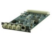 C304S Модуль 4 ASI выхода со встроенным скремблером 4-х потоков, RG45 порт для скремблинга.