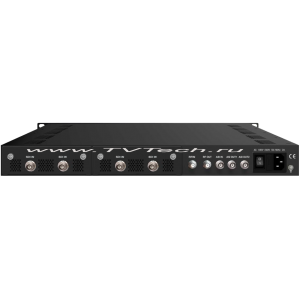 EC4000HD-C-SDI четырех канальный Full-HD энкодер и модулятор DVB-C с HD-SDI входами, с ASI и IP выходом