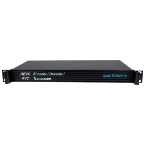 4-х канальный HEVC/H.265 AVC H.264 MPEG-4 энкодер декодер транскодер с HDMI AV HTTP HLS RTSP