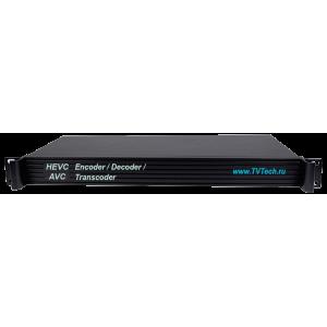 HEVC/H.265 AVC H.264 MPEG-4 энкодер декодер транскодер с HDMI AV HTTP HLS RTSP