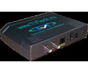 Конвертер IP  в коаксиал (IP по ВЧ кабелю) кабельное VOD для гостиничного ТВ