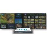 TrueView Multiview - система мозайки, много экранного контроля качества 48 SD каналов и мониторинга IPTV и DVB