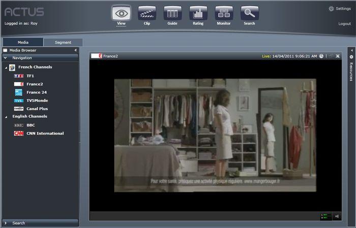Запись и мониторинг эфира - Live View