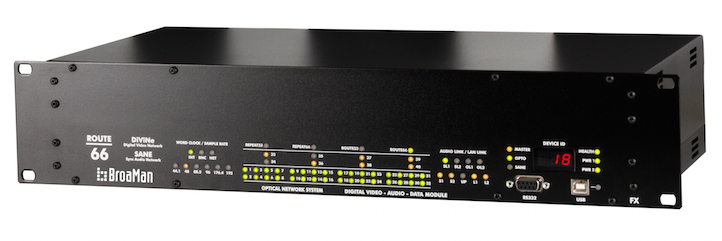 Конвертер мультимедиа Route66-AR10 Optocore AutoRouter BroaMan