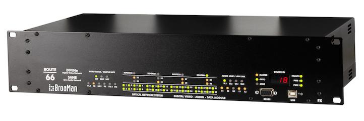 Конвертер мультимедиа Route66-AR5 Optocore AutoRouter BroaMan