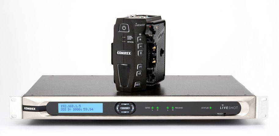 Comrex LiveShot ™ профессиональная система передачи видео и аудио по сетям IP в режиме реального времени.