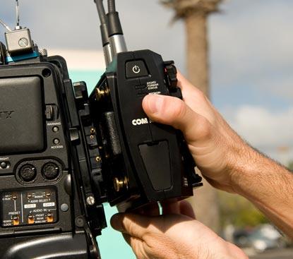 LiveShot portable система передачи видео и аудио по сетям интернет, крепление к камере
