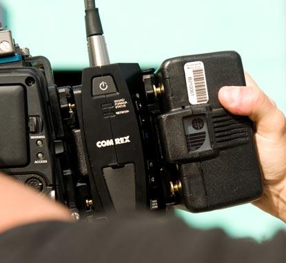LiveShot anton bauer крепление к камере приемо-передатчика по 4G или 3G