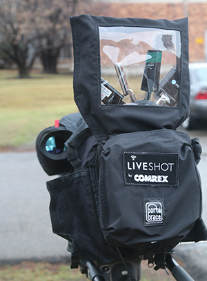 LiveShot Портативный дождевик