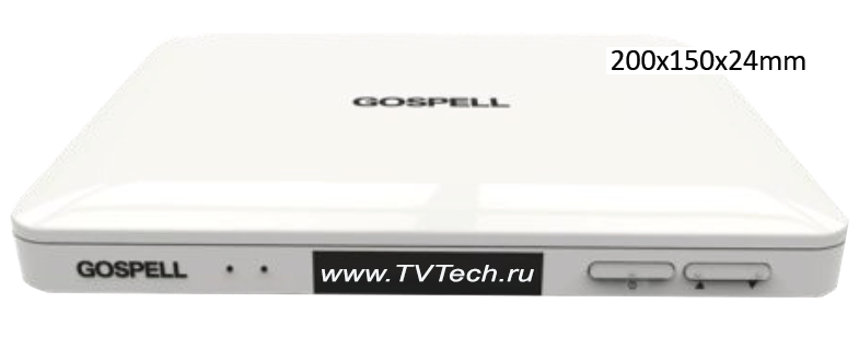 Внешний вид абонентского приемника STB GC8590HD CAS Gospell