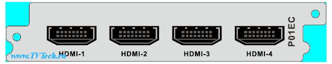 Р01ЕС модуль 4х HDMI входа энкодер/транскодер для DCP-3000MF
