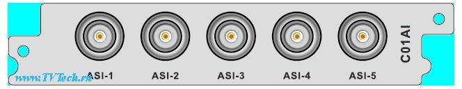 C01ASI модуль 5xASI входов и выходов для DCP-3000MF PBI