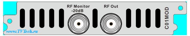 C01MOD модуль 8 канального QAM или 4 канального COFDM модулятора для DCP-3000MF PBI