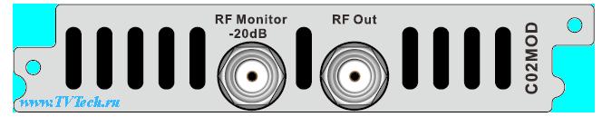 CQ2MOD модуль 4-х канального модулятора с независимыми частотами QAM/ATSC/COFDM/DTMB