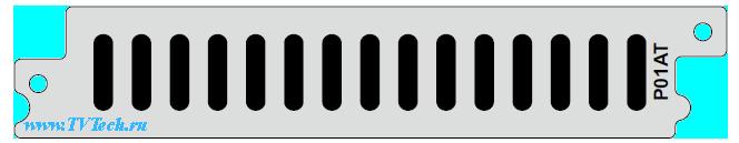 Р01AT модуль четырех канального HD/SD H.265 в H.264/MPEG-2 транскодера для DCP-3000 PBI