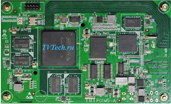 P01MS модуль мультиплексора и скремблера для DCP-3000MF PBI