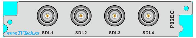 P02EC модуль 4x SDI энкодер и транскодер для DCP-3000MF