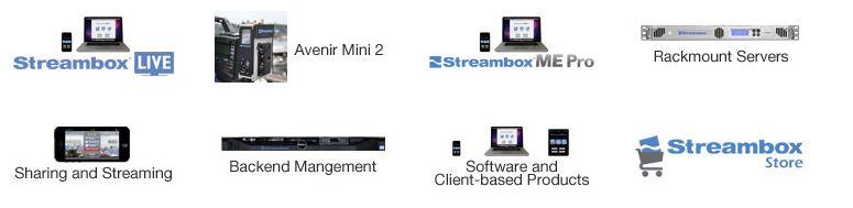 Топ продукты Streambox: