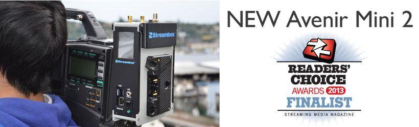 Avenir Mini 2 - Трансляция видео 3G/4G/LTE/WIFI/Ethernet