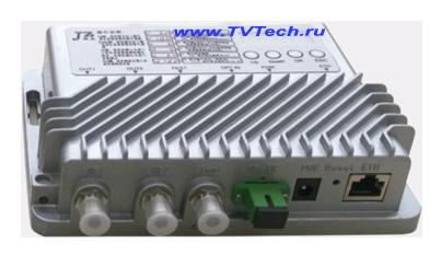 Внешний вид компактного оптического приемника FTTB с высоким выходным уровнем >110дБ тип 2