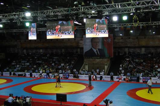 спортивные led экраны
