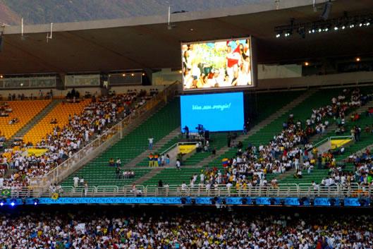 Видеоэкраны для стадионов